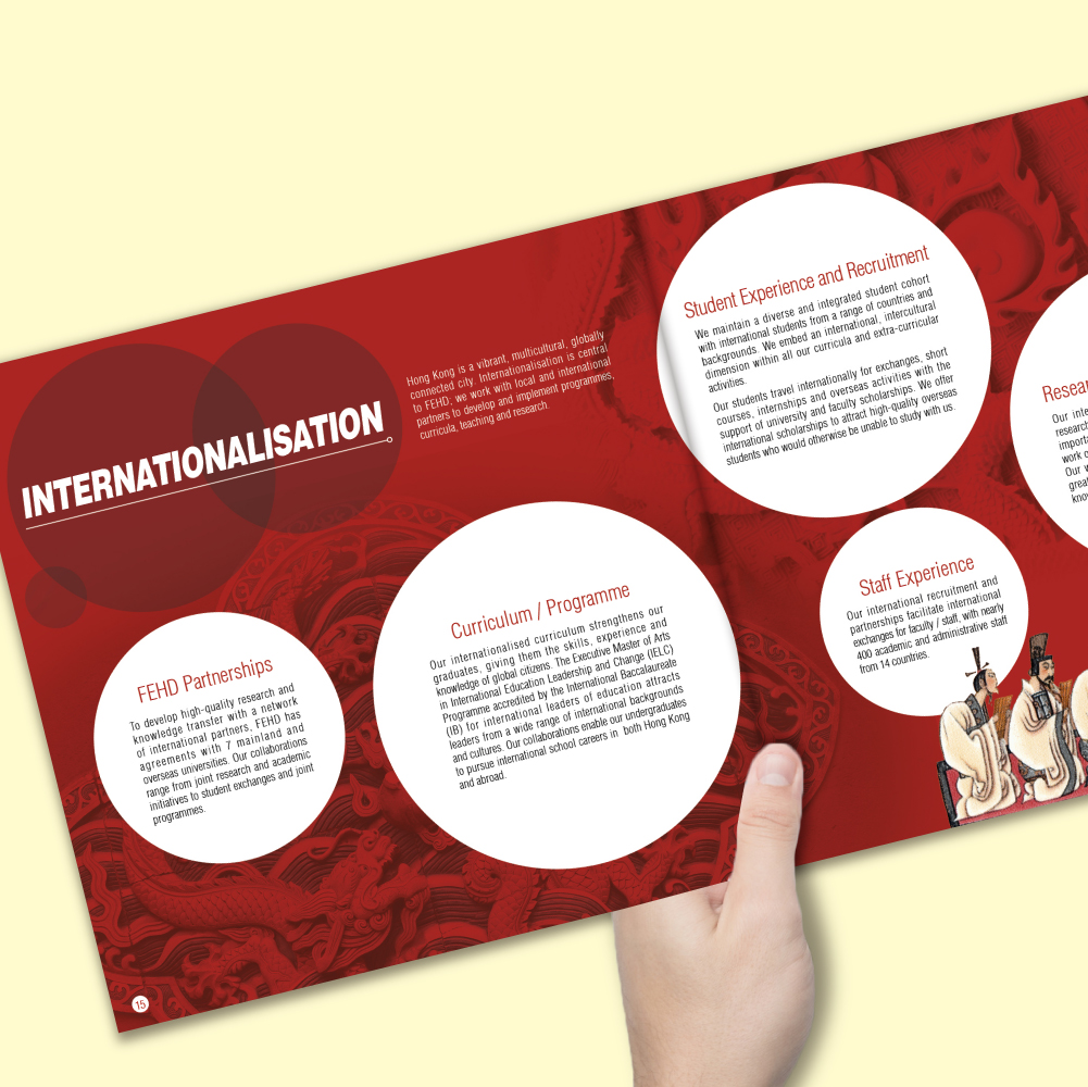FEHD Faculty Brochure | DT Design Company Limited